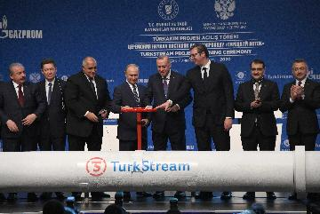 Turkey, Russia inaugurate TurkStream pipeline