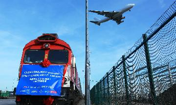 Chinas Chengdu sees 4,600 trips by China-Europe freight trains