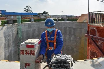 粤港澳大湾区重点基建项目--黑白面将军山隧道全面展开施工