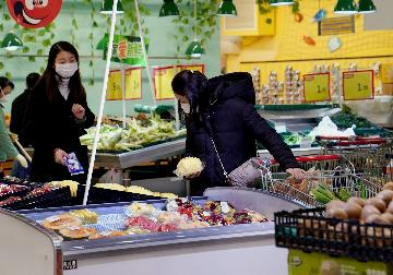 Chinas consumer inflation expected to edge down in February