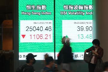 香港特区政府严阵以待维护金融稳定