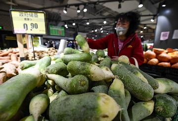 Economic Watch: Chinas consumer inflation eases, factory prices fall