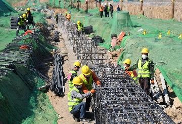 China achieves progress in work resumption of major transport projects