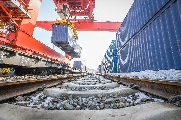 3月份全國鐵路發送貨物3.46億噸