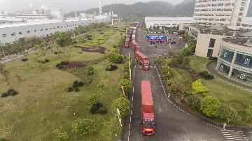 甘肃西部陆海新通道国际货运班列恢复开行