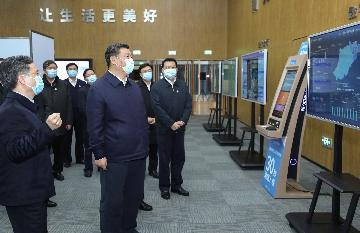 Xi stresses coordinating epidemic control, economic work
