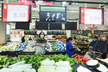 Chinas consumer inflation expected to edge down in April
