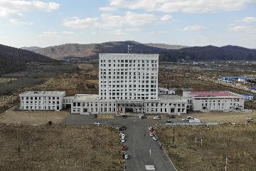 Temporary hospital at China-Russia border ready for treating COVID-19 cases