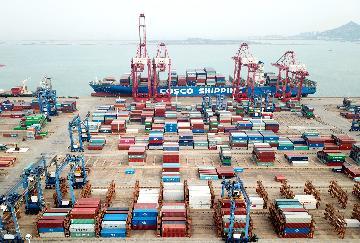 4月中国国际货物和服务贸易顺差406亿美元