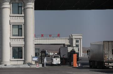 Chinas largest land port sees more China-Europe freight trains