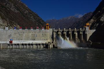 中企牵头承建的巴基斯坦巴沙水电站主体工程启动