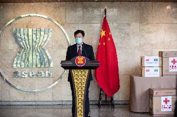 专访:中国和东盟战略互信提升至新高度--访中国驻东盟大使邓锡军