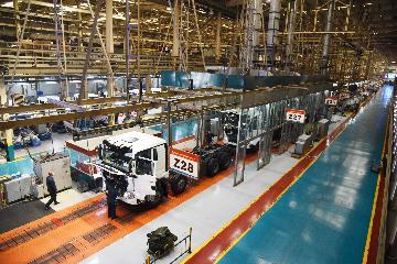 年產能10萬輛整車的中國重汽智慧網聯(新能源)重卡項目正式投產
