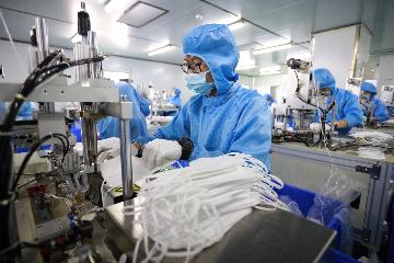 China sees rising exports of epidemic prevention supplies
