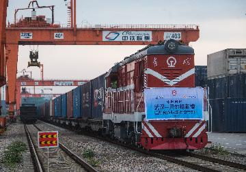 Xinjiangs Alashankou port sees steady growth in China-Europe cargo trains