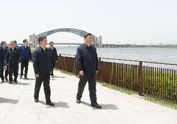 Xi Jinping on work, production resumption