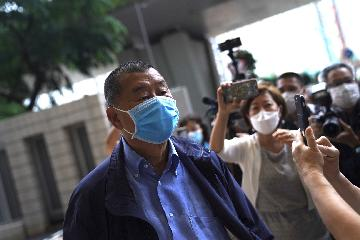 Jimmy Lai arrested under national security law in Hong Kong