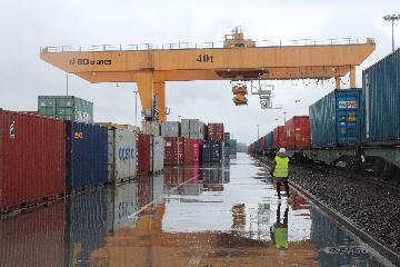 Horgos port handles record number of China-Europe freight trains in July