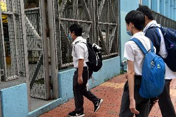 香港新冠肺炎疫情缓和 中小学开始分阶段复课