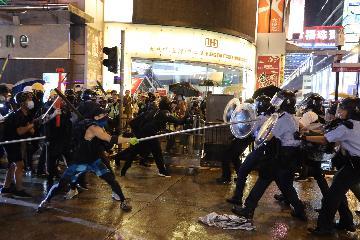 香港特區政府警務處:將嚴正執行香港國安法以維護國家安全