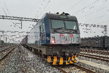 Xian sees more China-Europe rail-freight trips in H1