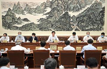 Chinese lawmakers deliberate draft national security law for HK