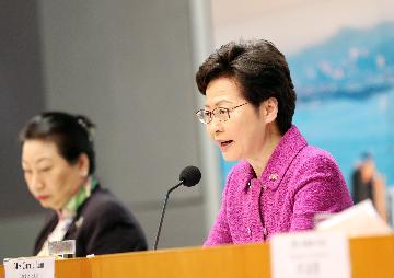 林郑月娥:香港国安法有利于香港繁荣稳定