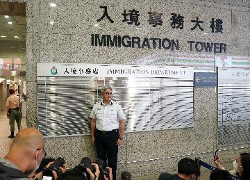 香港新任入境事務處處長:將全力維護國家及特區安全