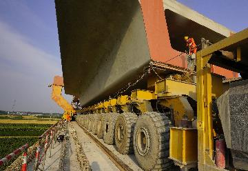 Chinas railway investment expands in H1