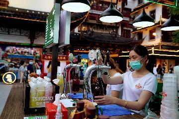 上海发布首发经济活跃指数 今年上半年总分为86.8