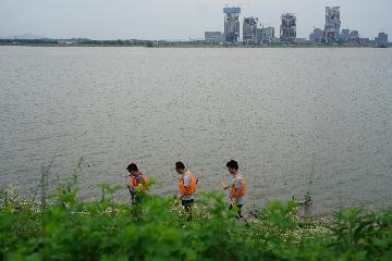 長江中下游各江段未來幾日將相繼出現洪峰