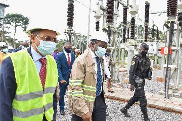 喀麥隆官員感謝中喀企業協作降低喀發電成本