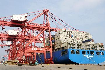 Chinas foreign trade up 22.7 pct in first three quarters