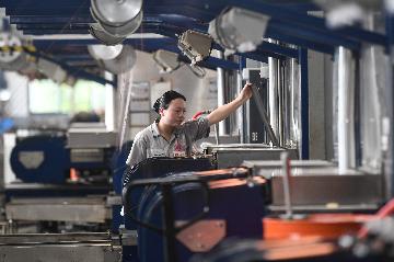 7月份規模以上工業增加值同比增長4.8%