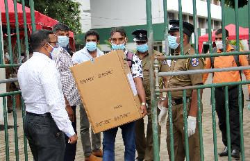 Voting for Sri Lankas parliamentary election gets underway