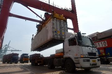 Tianjin Container Freight Index up 0.03 pct
