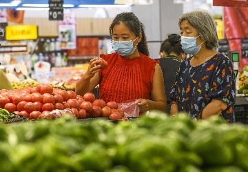 Chinas CPI up 2.4 pct in August