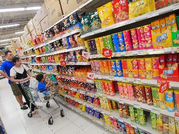 Chinas retail sales up 0.85 pct in July