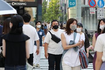 日本二季度經濟創紀錄下滑27.8%