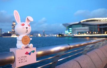 """香港邮政将发行""""香港今昔系列:维多利亚港""""特别邮票"""