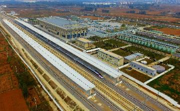 Across China: High-speed railway drives economy of old revolutionary base