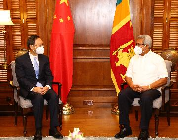 China to deepen cooperation with Sri Lanka, UAE, Algeria, Serbia