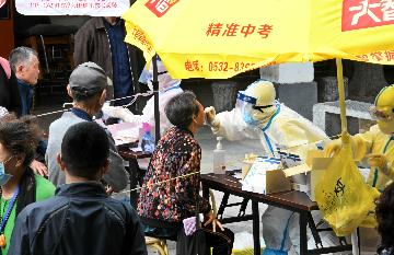 """青岛用三个""""五天速度""""捍卫中国抗疫成果"""