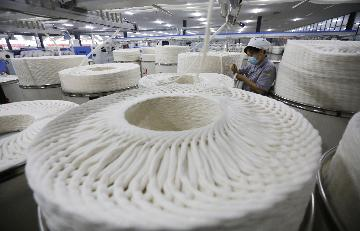 Profits of industrial textile industry more than double in Jan.-Sept.