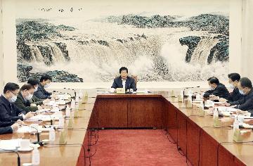 全国人大常委会党组举行会议