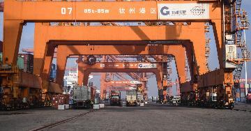 中國2020年成為全球唯一實現貨物貿易正增長的主要經濟體