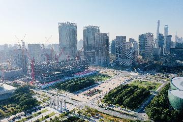 """再闖關山千萬重--浦東打造社會主義現代化建設引領區""""暖開機"""""""