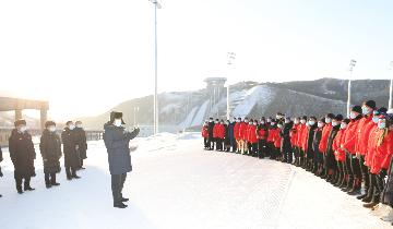 Xi Focus: China advances preparation for green 2022 Winter Olympics