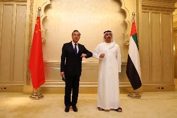 阿联酋驻华大使:阿联酋与中国关系成为全球合作的典范