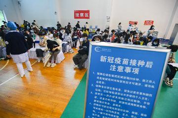 应接尽接!中国加快构筑全人群新冠免疫屏障